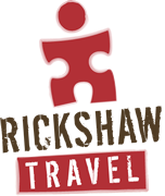 Rickshaw Travel Logo