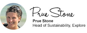 Prue Stone, Head of Sustainability, Explore